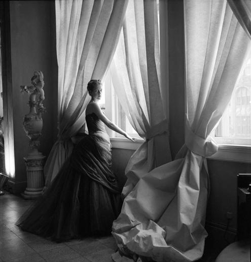 Nancy James in Swan Gown (1955)